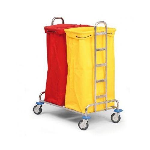 Wózek na bieliznę lub odpady segregowane, 2 worki