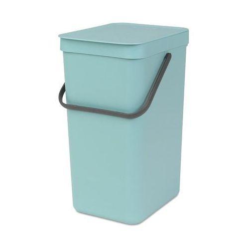 Kosz do segregacji odpadów Sort & Go 16 l miętowy (8710755109843)