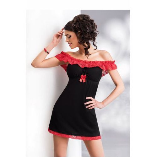 Koszula nocna model carmen black marki Donna
