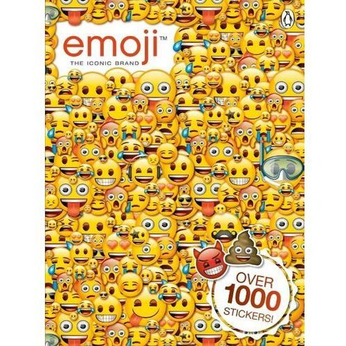 Emoji: Official Sticker Book - Dostawa 0 zł, oprawa miękka