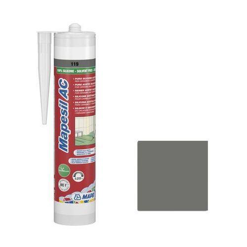 Silikon sanitarny MAPESIL AC 310 ML Szary 119 MAPEI (8022452241345)