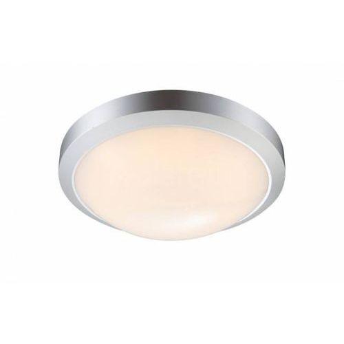 Globo Plafon lampa sufitowa john 32107 zewnętrzna oprawa led 12w ip65 outdoor okrągła srebrna (9007371291335)