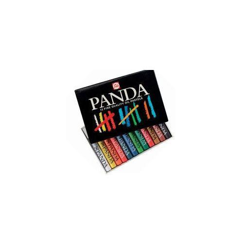 Talens Panda Pastele Olejne 12kol