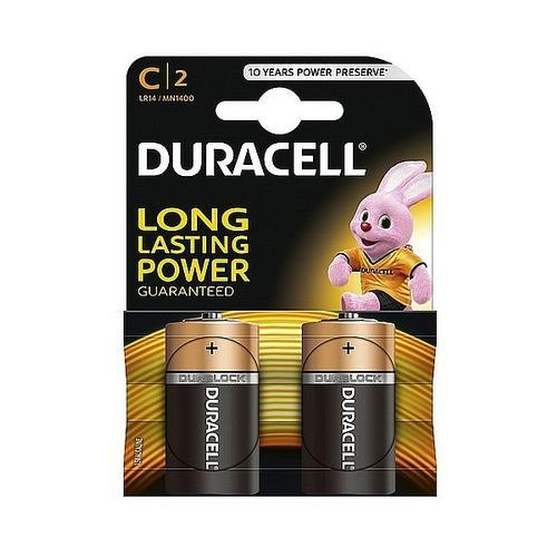 Baterie alkaliczne Duracell Basic C LR14 1,5V, 2 szt.