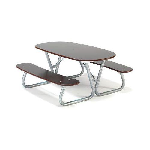 Stół piknikowy BLABAR, 1400x1400x650 mm, 362413