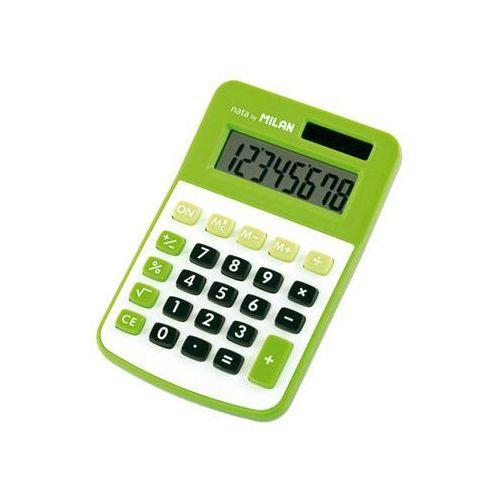 Milan Kalkulator 8 pozycyjny, zielony (8411574036463)