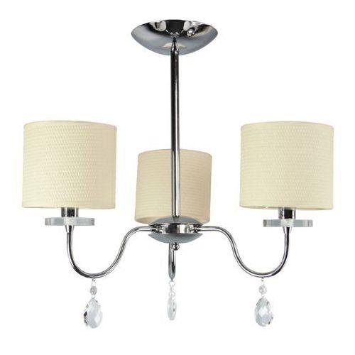 Lampa wisząca Candellux Estera 3x40W E14 chrom 33-11664, kolor Srebrny
