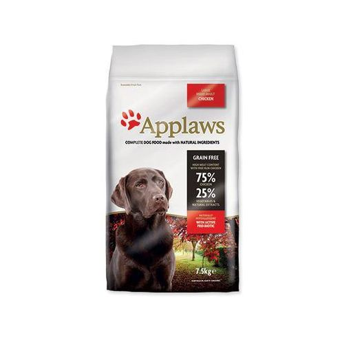 APPLAWS dog ADULT LARGE breed chicken - 7,5kg, 1001602