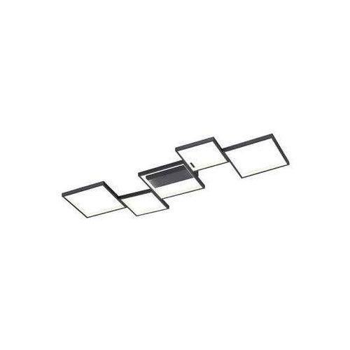 Trio Sorrento 627710532 plafon lampa sufitowa 1x34W LED 3000K czarny mat, kolor Czarny