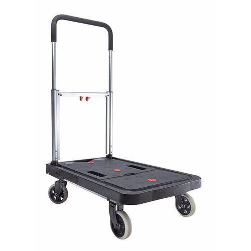 Wózek platformowy slimline, nośność 120 kg, pow. ładunkowa dł. x szer. 680x410 m marki Unbekannt