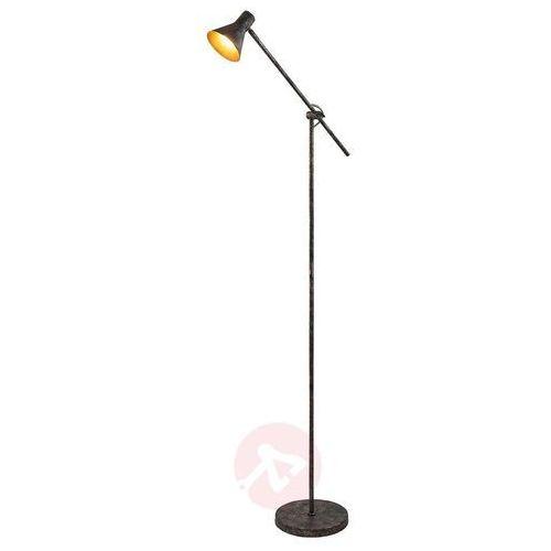 Lampa stojąca LED easydim Zera, rdzawo-złota