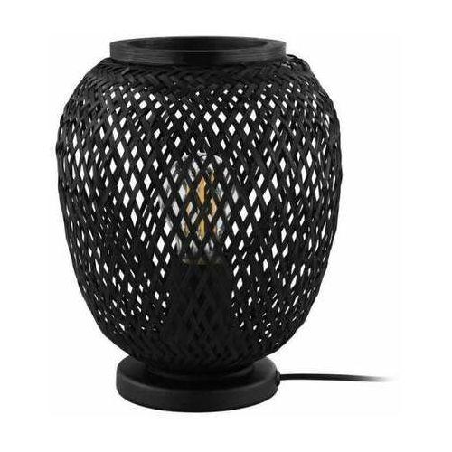 Eglo dembleby 43267 lampa stołowa lampka 1x40w e27 czarna