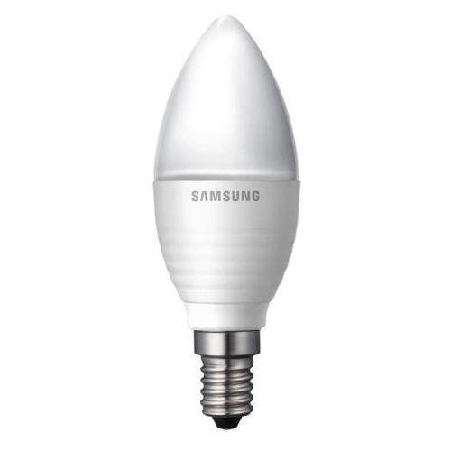 Samsung LED E14 świeczka 3,2W 230V 160lm mleczna biały ciepły DARMOWA DOSTAWA DO 400 SALONÓW !!, SI-A8W032180EU