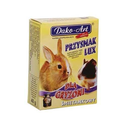 przysmak lux - przysmak śmietankowy dla gryzoni 40g marki Dako-art
