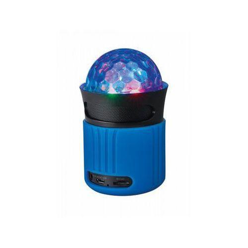 Trust dixxo go bezprzewodowy głośnik ze światłami bluetooth - niebieski
