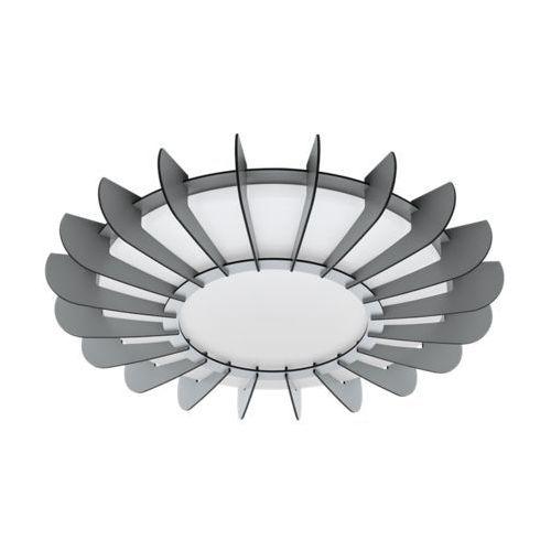 Eglo arapiles 98262 plafon lampa sufitowa oprawa 1x33w led szara/biała (9002759982621)