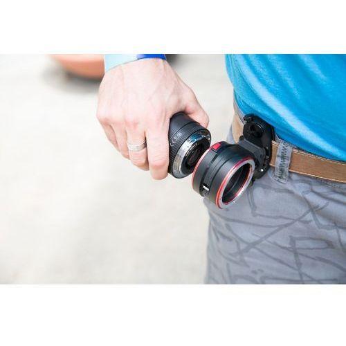 adapter do mocowania obiektywów przy pasku lens kit do canon ef marki Peak design