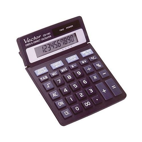 Kalkulator cd1181 10 pozycyjny marki Vector