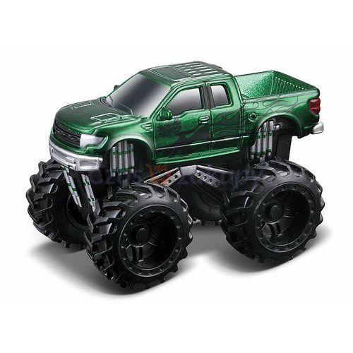 Maisto dirt demons monster trucks ford f-150 svt- raptor - zielony