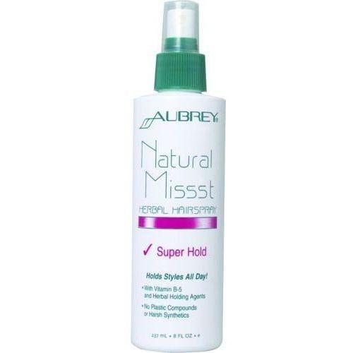 Aubrey Natural missst ziołowy spray do włosów - mocne utrwalenie 237ml