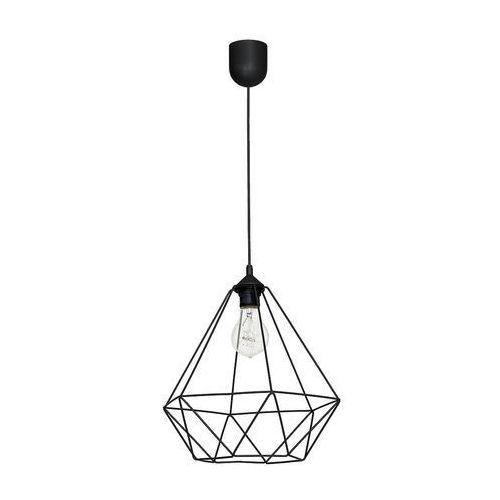 Milagro Lampa wisząca oprawa druciana zwis alambre 1x60w e27 czarna 1113