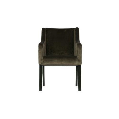 Woood krzesło do jadalni liz zielone 340368-g