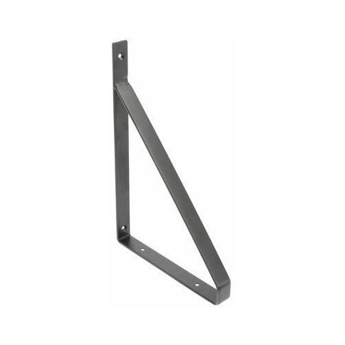 Gtv Wspornik półki stalowy czarny gino (5902801356179)