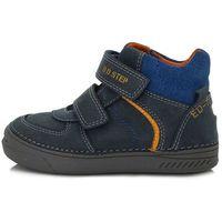 D-D-step buty chłopięce całoroczne 040-443 33 ciemnoniebieskie (4044333000005)