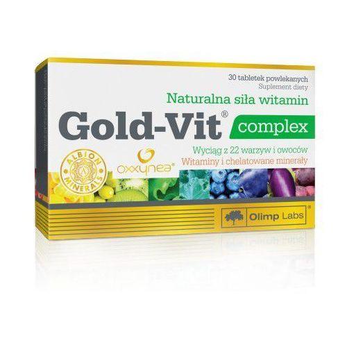 Gold-Vit complex 30tab Olimp (Witaminy i minerały)