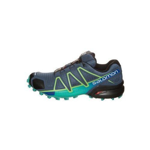 Salomon  speedcross 4 but do biegania trail kobiety niebieski/tur 39 1/3 buty trailowe (0889645083674)