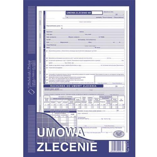 Umowa zlecenia z rachunkiem (o+1k) a4 - g0364 marki Michalczyk i prokop