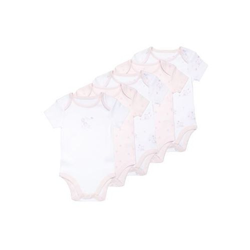 mothercare GIRLS MY FIRST BABY 5 PACK Body pale pink, LC607