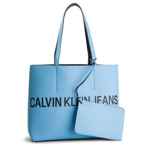 Calvin klein jeans Torebka - ultra light reversible tote k60k605235 908