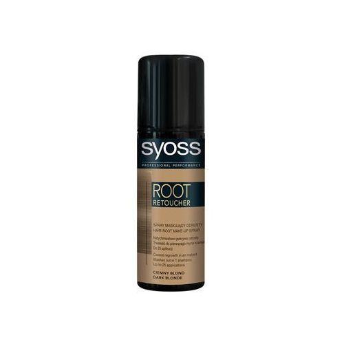 Syoss Root Retoucher tonująca farba na odrosty w sprayu odcień Dark Blonde 120 ml z kategorii Koloryzacja włosów