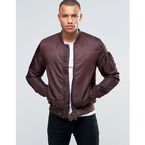 ma1 bomber jacket - red marki Brave soul