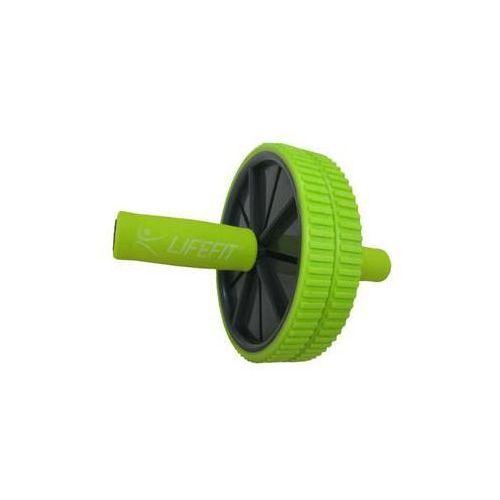 Lifefit Kółko do ćwiczeń exercise wheel duo, zielone