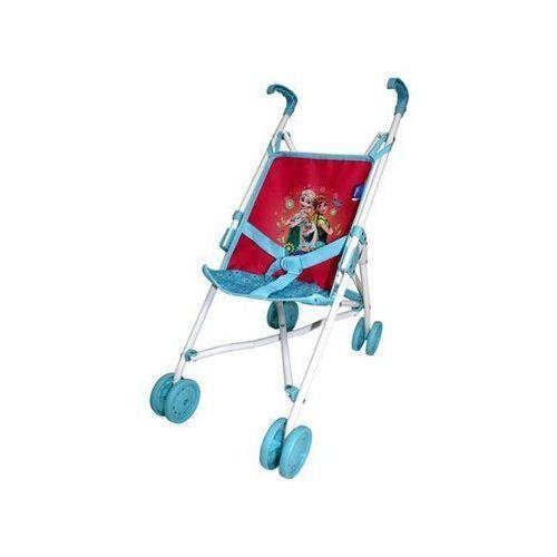 Wózek składany mały niebieskie kółka marki Brimarex