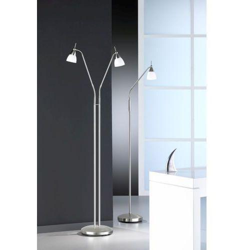 pino lampa stojąca stal nierdzewna, 2-punktowe - klasyczny - obszar wewnętrzny - pino - czas dostawy: od 4-8 dni roboczych marki Paul neuhaus