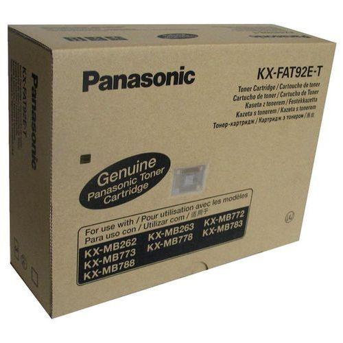 Toner kx-fat92e-t czarny do drukarek (oryginalny) [2k] - 3 pack marki Panasonic
