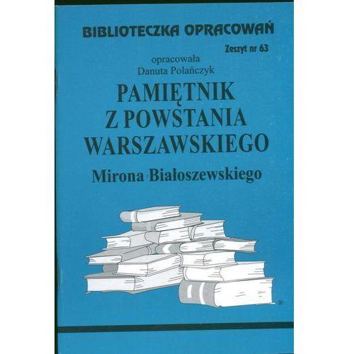 Biblioteczka Opracowań Pamiętnik z Powstania Warszawskiego Mirona Białoszewskiego, Biblios