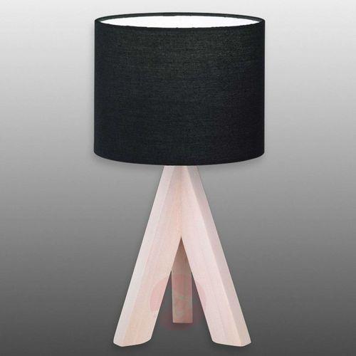 Reality ging lampa stołowa ciemne drewno, jasne drewno, 1-punktowy - nowoczesny/design - obszar wewnętrzny - ging - czas dostawy: od 4-8 dni roboczych (4017807295580)