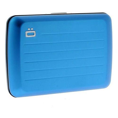Ogon stockholm v2 blue wytrzymały portfel metalowy, marki Ögon design