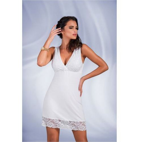 Koszula nocna model amelia white, Donna