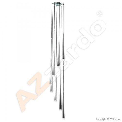 Lampa wisząca STYLO 8 MD1220A-8 CHROME - AZzardo + LED - Autoryzowany dystrybutor AZzardo, MD 1220A-8 CHROME