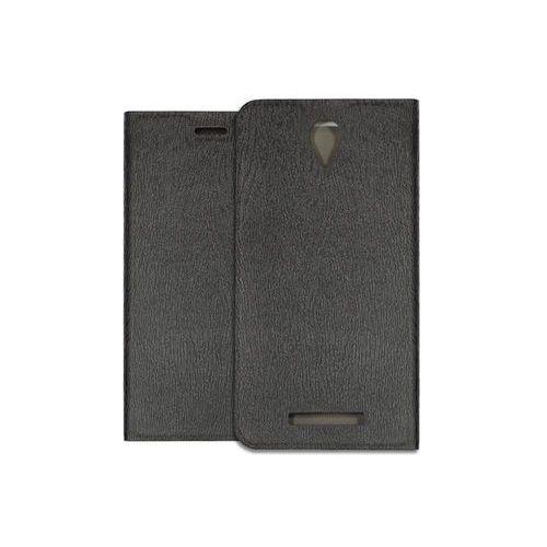 Xiaomi Redmi Note 2 - etui na telefon Flex Book - czarny, kolor czarny