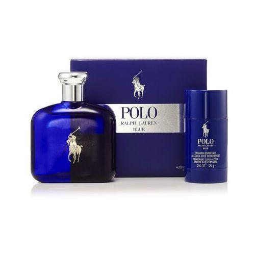 polo blue, zestaw podarunkowy, woda toaletowa 125ml + dezodorant w sztyfcie 75ml marki Ralph lauren