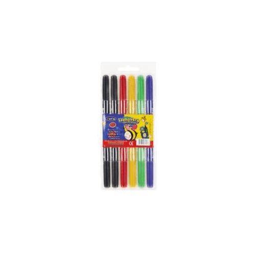 Patio Flamastry Colorino dwustronne - 6 kolorów - WIKR-035929 Darmowy odbiór w 21 miastach!