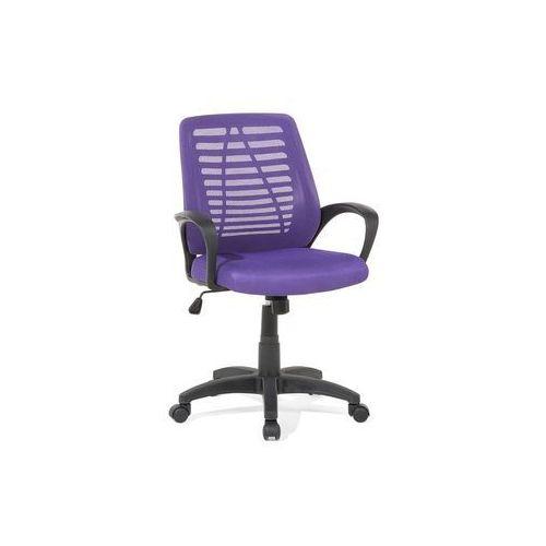 Krzesło biurowe fioletowe - meble biurowe - fotel komputerowy - mayor marki Beliani