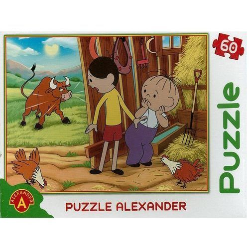 Alexander puzzle 60 el. bolek i l. i byk (5906018006803)