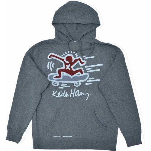 bluza ALIEN WORKSHOP - Haring Sk8Erboi Plvr Hthr Gray (SEDA) rozmiar: L